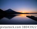 [시즈오카 현] 田貫湖 · 호반의 새벽 · 후지산 38043922