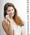 Young female customer service agent 38044184