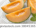 It is a delicious melon. 38045365