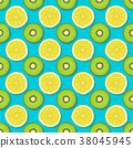 seamless kiwi fruit 38045945