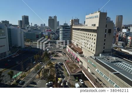 Kobe Sannomiya Station square - Stock Photo [38046211] - PIXTA