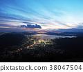 灰ヶ峰에서의 야경 38047504