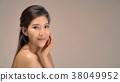 Happy beautiful asian girl with the fresh skin. 38049952