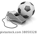 Whistle and Soccer Ball 38050328