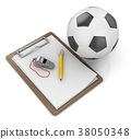 Notepad with Soccer Ball 38050348