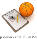 Notepad with Basketball 38050350