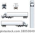 vector, truck, template 38050649