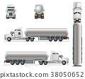 vector truck template 38050652