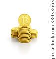 比特幣 硬幣 錢幣 38053665