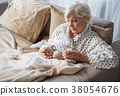 elderly, senior, depressed 38054676