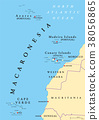 Macaronesia political map 38056865