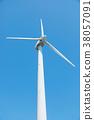 풍력 발전, 풍차, 자연 에너지 38057091