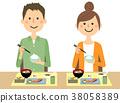 年輕夫婦吃 38058389