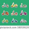 scooter, bike, vehicle 38059028