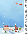 illustration background Christmas 38059430
