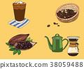 illustration coffee Object 38059488