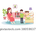 Family Planning Vector Illustration 38059637