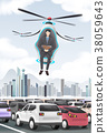 Drone In Use Vector Illustration 38059643