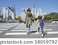 A cordial mommy and little girl, family concept photo 002 38059792