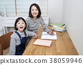 A cordial mommy and little girl, family concept photo 237 38059946