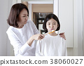A cordial mommy and little girl, family concept photo 123 38060027