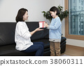 A cordial mommy and little girl, family concept photo 328 38060311