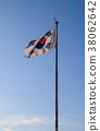 South Korean Flag 38062642