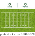 grass background vector 38065020