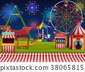 amusement park ferris 38065815