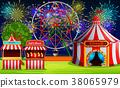 amusement park building 38065979