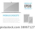 computer vector monitor 38067127