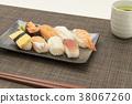 sushi, eating, meal 38067260