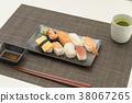 ซูชิ,กิน,มื้ออาหาร 38067265