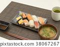 ซูชิ,กิน,มื้ออาหาร 38067267