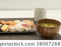 ซูชิ,กิน,มื้ออาหาร 38067268