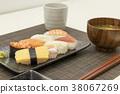 ซูชิ,กิน,มื้ออาหาร 38067269