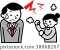 아내의 잔소리에 진절머리하는 직장인 38068207