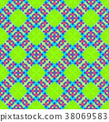 Seamless Abstract Pattern 38069583