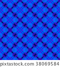 Seamless Abstract Pattern 38069584