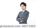 商務人士 商人 男性白領 38071963