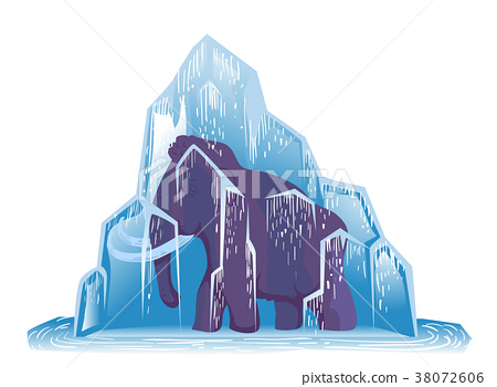 Ice Age Mammoth Frozen 38072606
