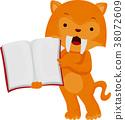 Ice Age Sabertooth Tiger Book 38072609