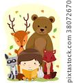 Kid Boy Book Animals Woodland 38072670