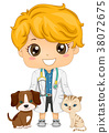 Kid Boy Little Veterinarian 38072675