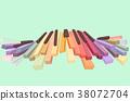 Piano Keys Illustration 38072704