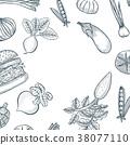 vector, ingredient, vegetable 38077110