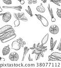 vector, ingredient, vegetable 38077112