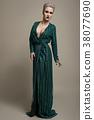 woman, beautiful, studio 38077690