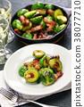 球芽甘蓝 油炸食品 蔬菜 38077710