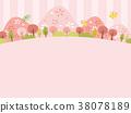 봄의 교외 풍경 38078189
